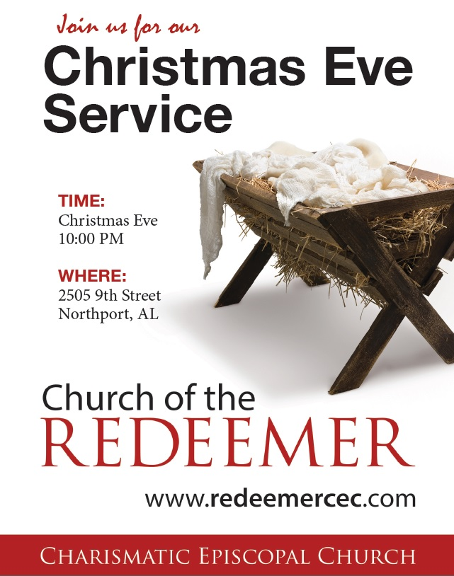 Come join us to worship this Christmas Eve!