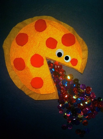 Sex Pizza, So exciting you'll puke glitter.