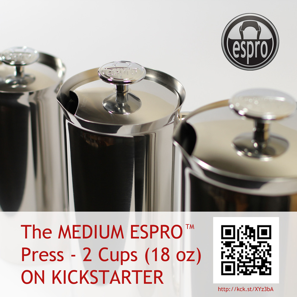 Announcing the MEDIUM ESPRO(TM) Press