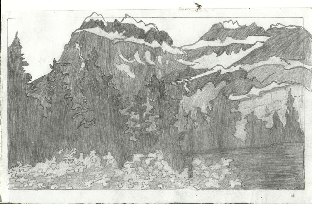 Scenery by Chumki, age 12