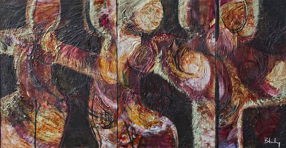 Dancers Triptych