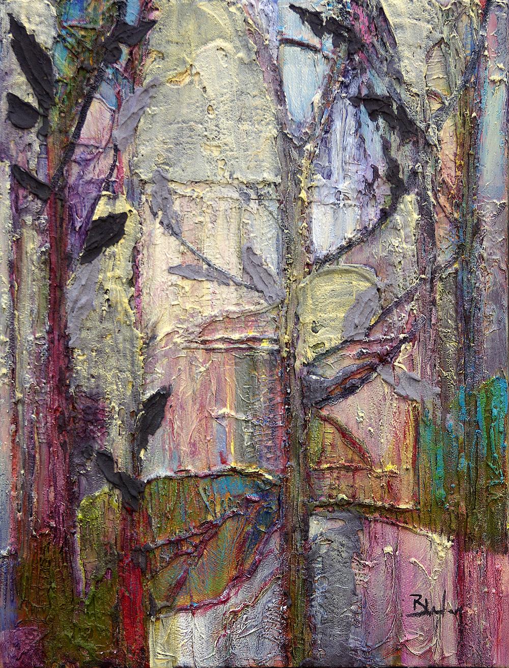 Woodland Triptych 1
