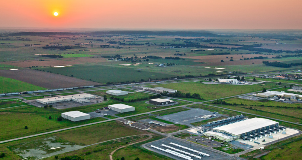 Google's Oklahoma data center