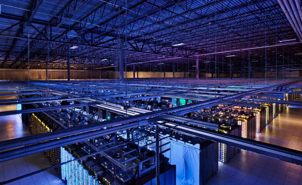 Google's 115,000 square foot Council Bluffs data center