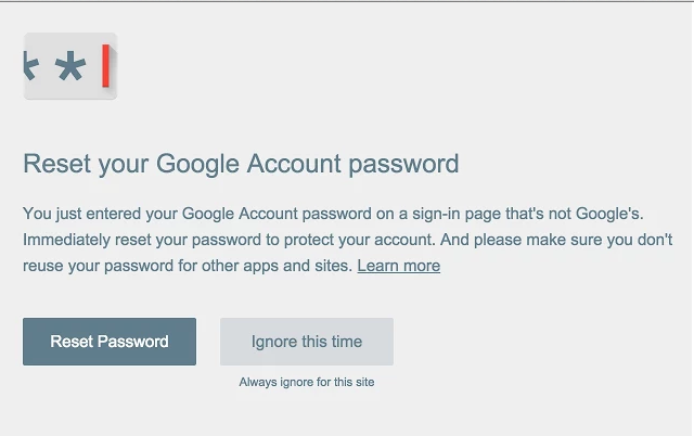 google-password-alert-extension