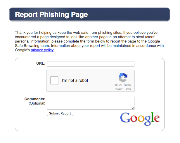 report-phishing-sites