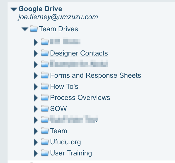 We can select any Dropbox Team Folder or subfolder and move it to any existing or new Team Folder or subfolder.