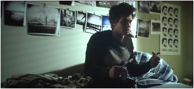 Here it is in Peter Parker's bedroom set in the new The Adventures of Spiderman