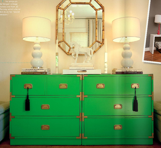 Vanessa De Vargas's green campaign chests give me hives of joy