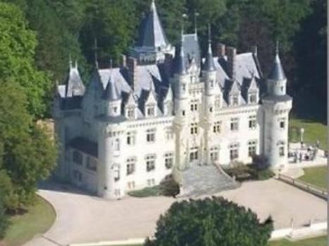 PRICE: $3,782,800   This 12-bedroom, 6-bathroom, 12,916-square-foot castle is like a fairy tale come true. With over 42 acres of land, a guesthouse, and a beautiful view of Touraine, France, you'll have no issues entertaining friends