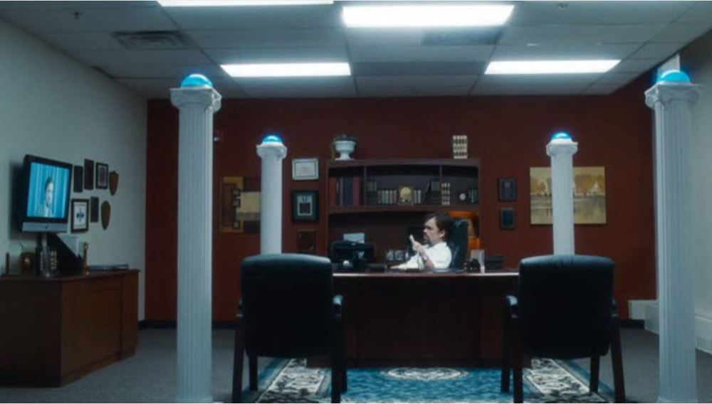 Saint John of Las Vegas (2009) - The boss's office in an insurance company in New Mexico