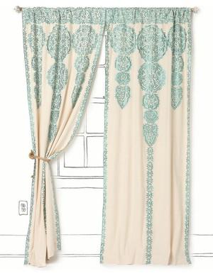 Anthropologie Curtains — Branche