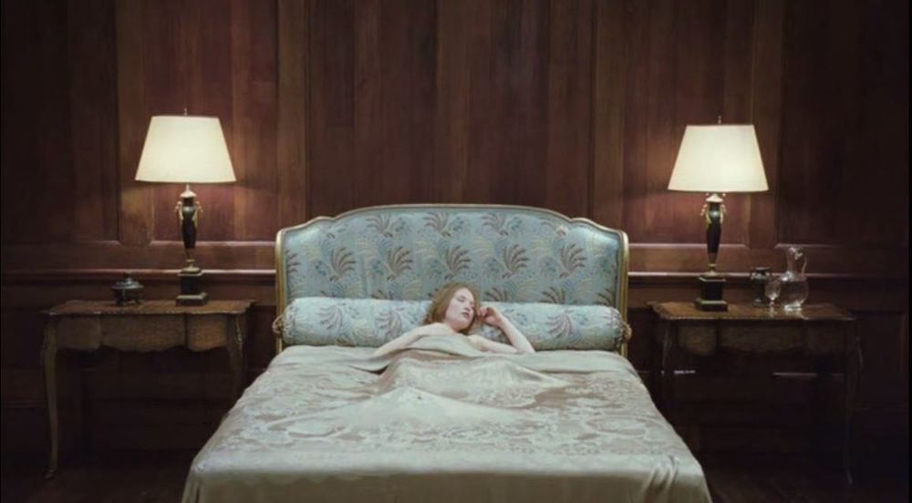 Sleeping Beauty (2011) - A mysteriously high-end brothel bedroom