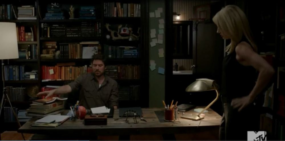 Finding Carter: Season 1, Episode 3 - Home office of a narcissistic writer.