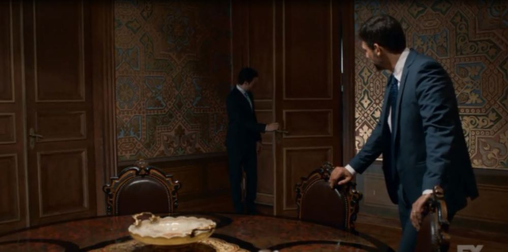 Tyrant: Season 1 - Meeting room in the palace