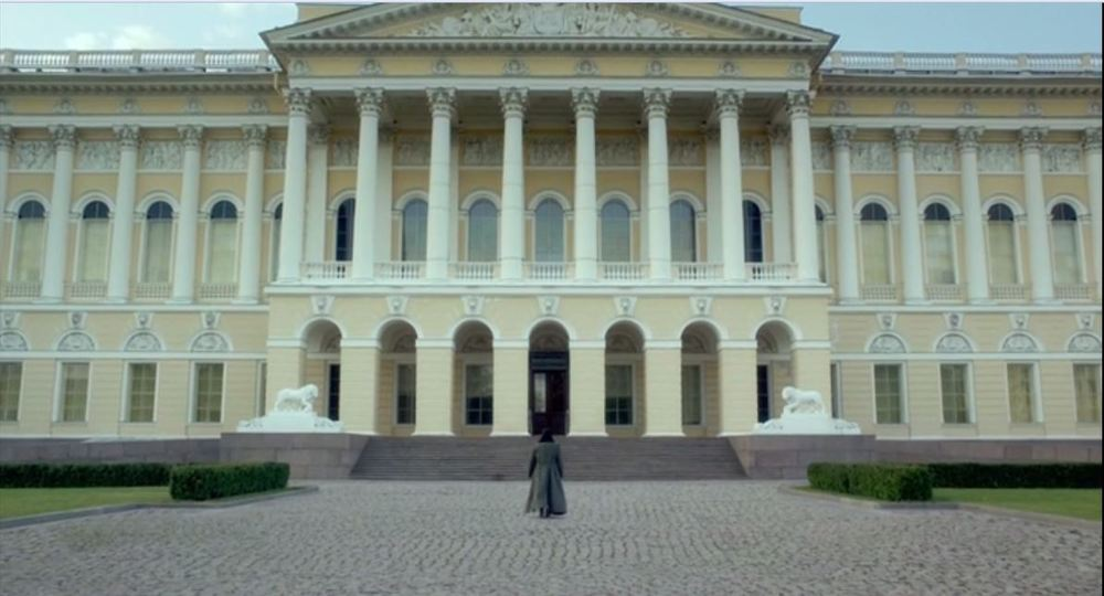 Michael's Palace, now the Russian Museum, in St Petersburg