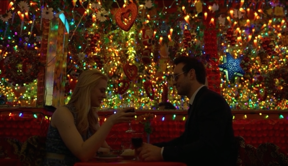 Daredevil - Season 2, Episode 4 - A woman takes a blind man on a date to a restaurant that is 100% ambiance.