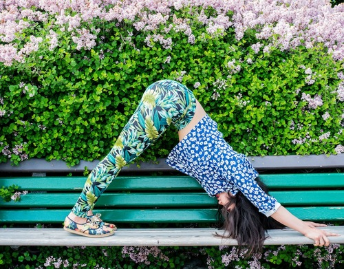 Char yoga pose bench.jpg
