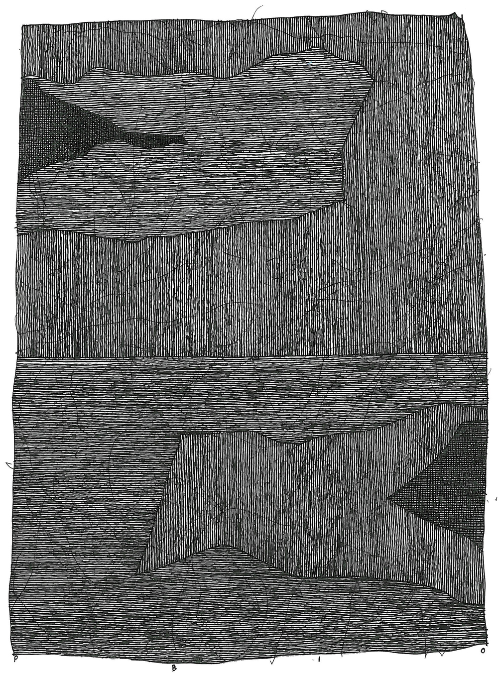 "Pen and Ink - 5.5"" x 7.5"" - 2010"