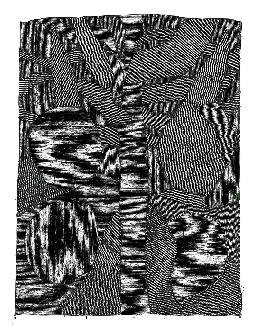 "Pen and Ink - 5"" x 7"" - 2010"