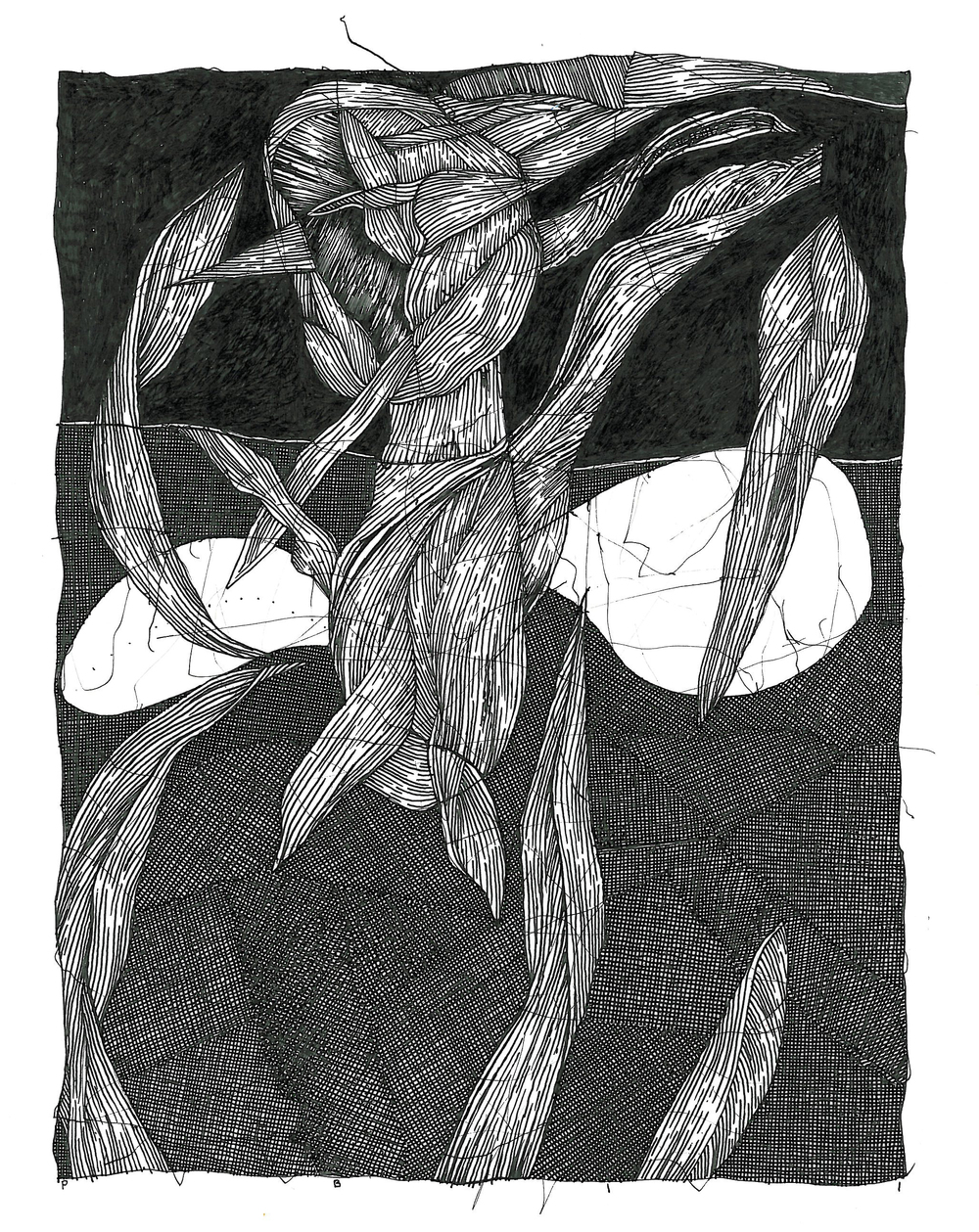 "Pen and Ink - 6"" x 8"" - 2011"