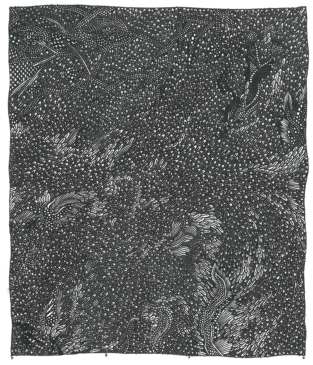 "Pen and Ink - 7.5"" x 8.5"" - 2006"