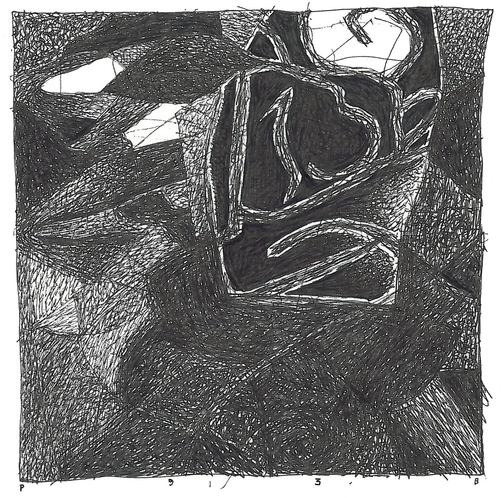 "Pen and Ink - 5.25"" x 8.25"" - 2005"