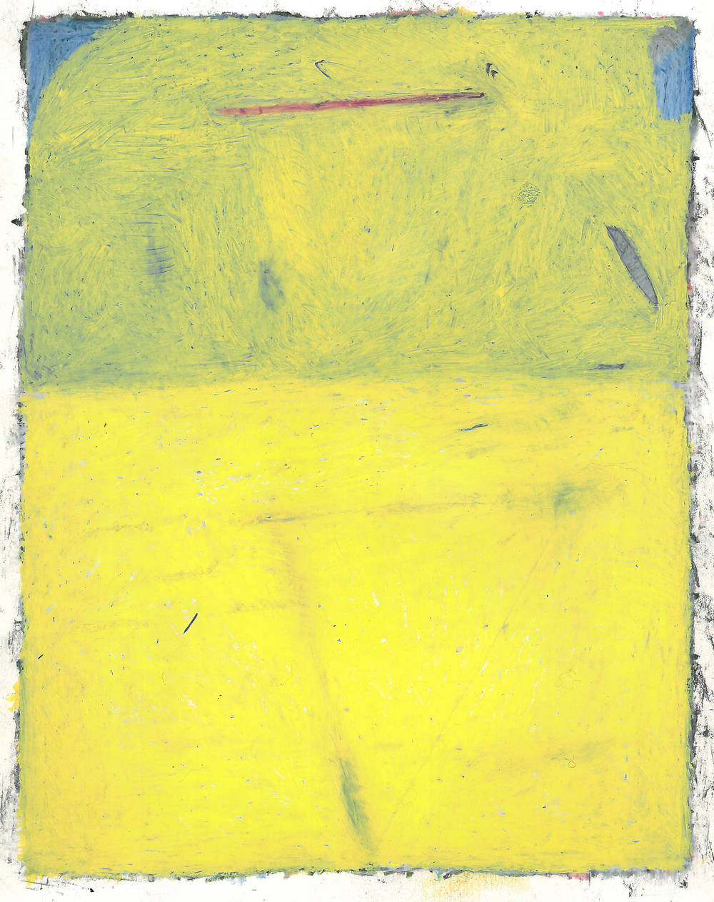 "Oil Pastel - 8.5"" x 11"" - 1999"