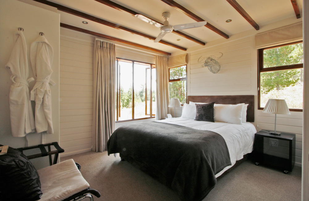 Phezulu Lodge – one of the bedrooms