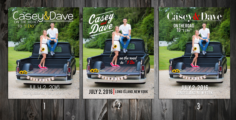 Interested in crafting your own save-the-dates? Hit us up: info@silverfoxvideo.com or 631-393-6966.