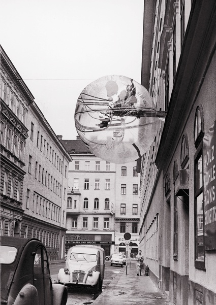 cerreyes-dpr-bcn :     Ballon für Zwei, 1967. Image courtesy Ortner & Ortner Baukunst as seen at  We Make Money not Art