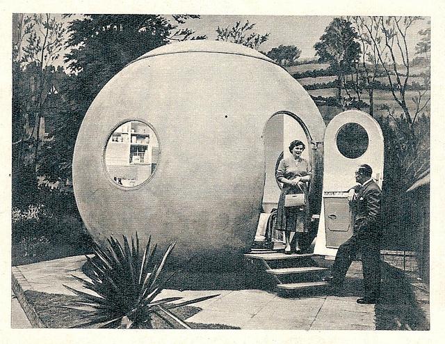 polychroniadis :      1959 Das Haus, Juni Ludowici Rundhaus