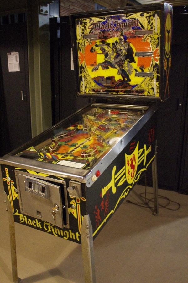 1980 Williams  Black Knight  pinball machine