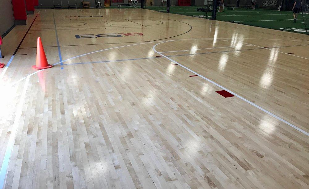 Basketball flooring - 84' x 50'