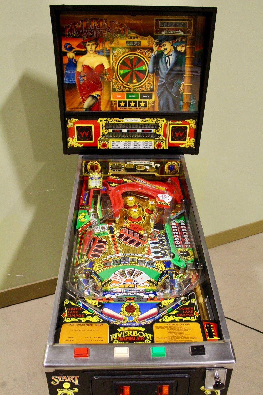 Riverboat Gambler pinball machine