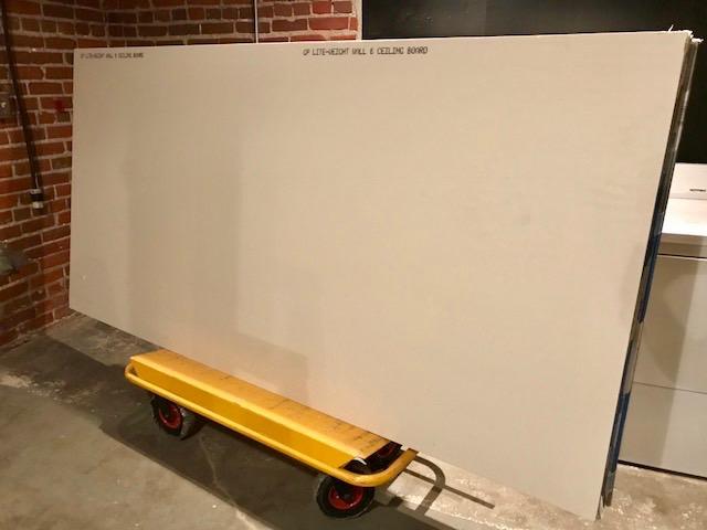 9 Drywall sheets