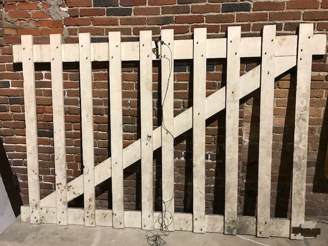 Old Milk Bldg freight elevator gate