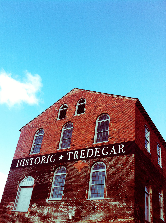 They just don't make buildings like they used to. Tredegar, RVA.
