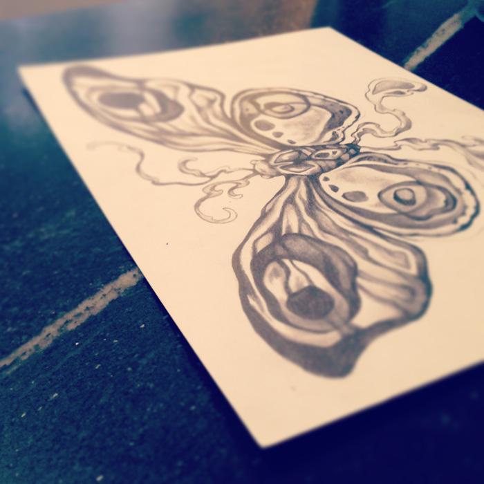 Original drawing, pencil.