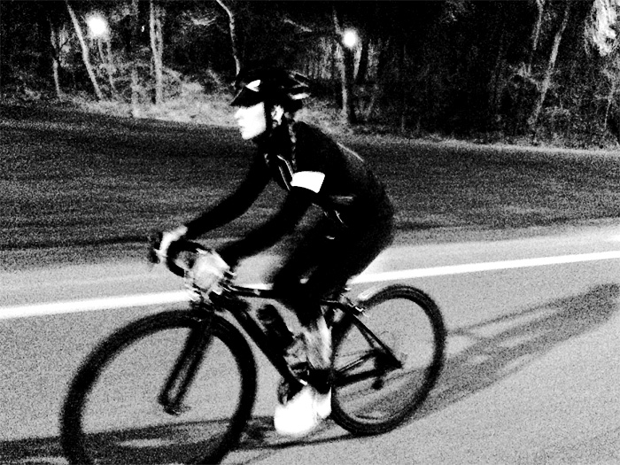 Prospect Park night riding.