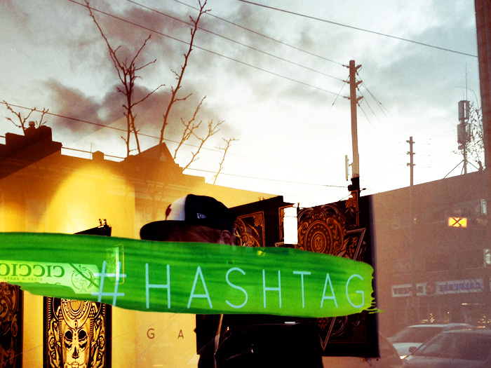 Caught  Hydro74 's opening at  Hashtag Gallery  over on Dundas Street.