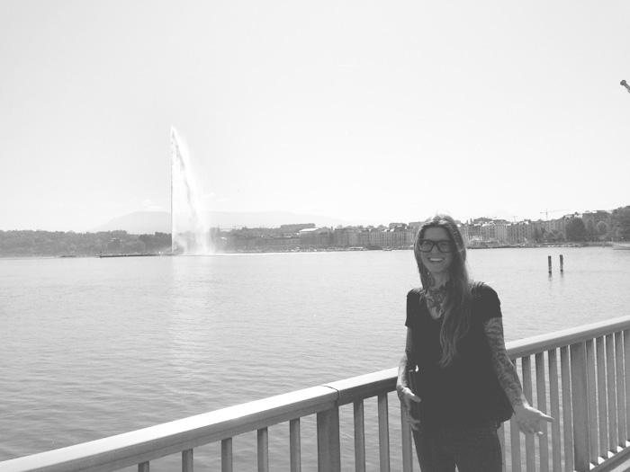 Layover adventure in Geneva. Speed tourism.