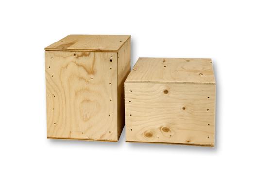 Plywood Urn Vault