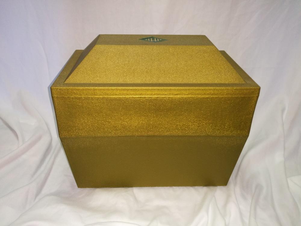 Gold Poly Urn Vault