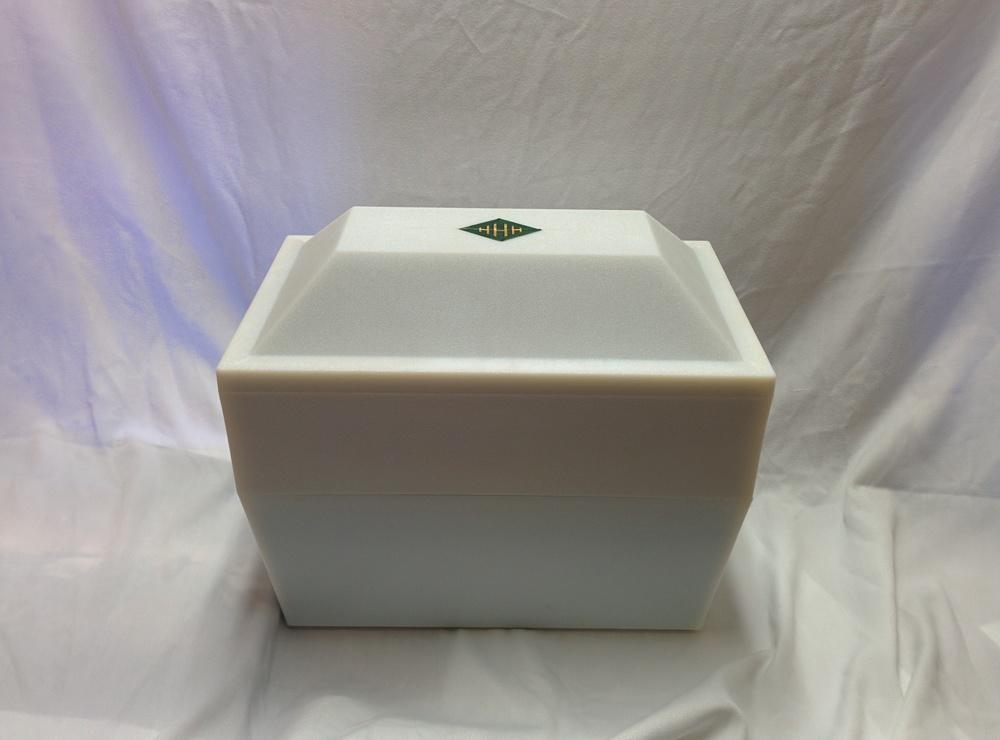 White Urn Poly Vault