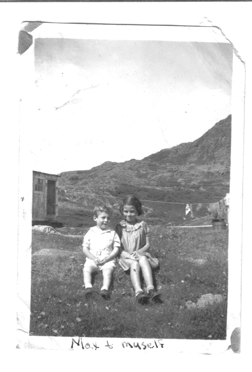 Newfoundland - Zilda Sulley and Max Gordon in St. Anthony.jpg