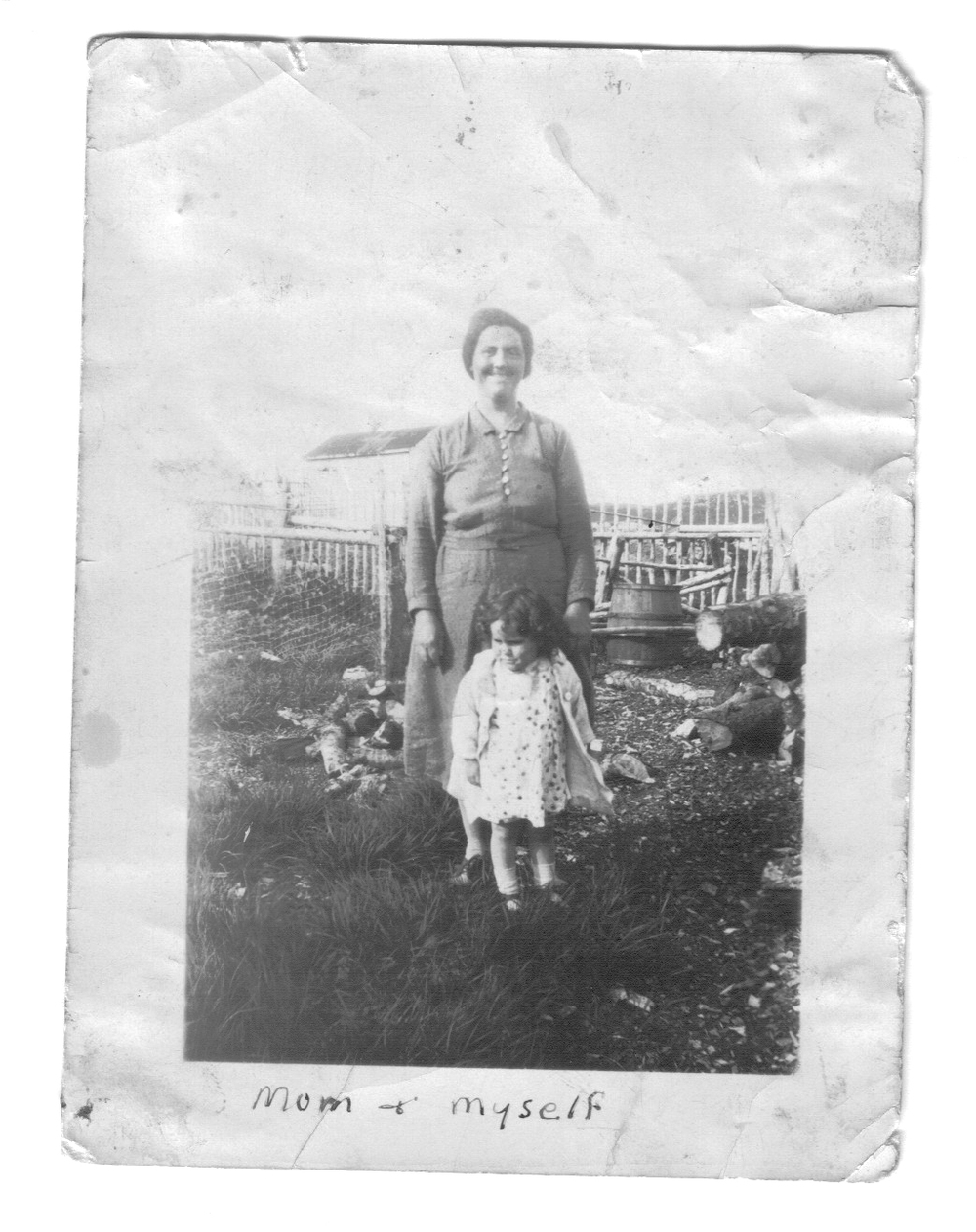 Newfoundland - Zilda Sulley with her mom Gertrude Sulley.jpg