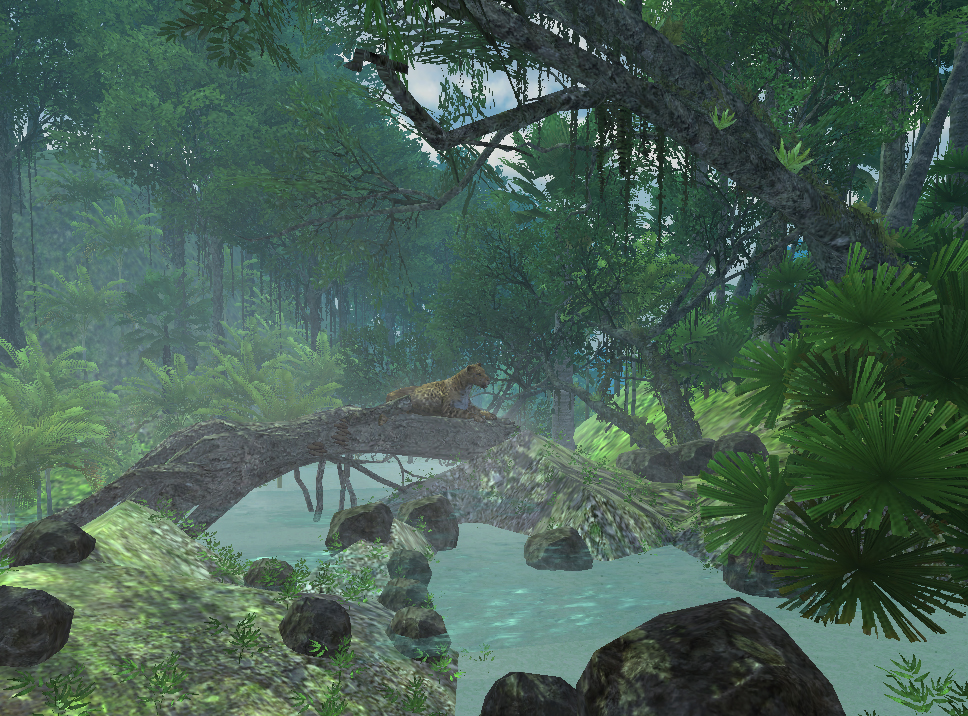 A game that the company Alchemy Learning is developing that takes place in the Amazon River.