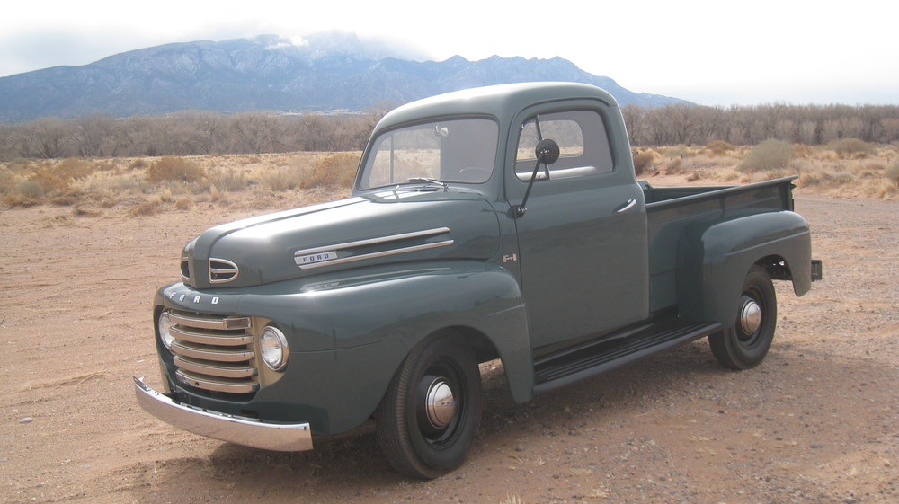 Jeff and Beth's 1948 F1 made this trip fine.