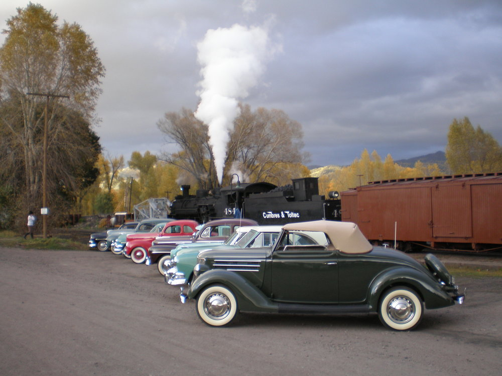 Past Tour of Cumbres Toltec Railroad